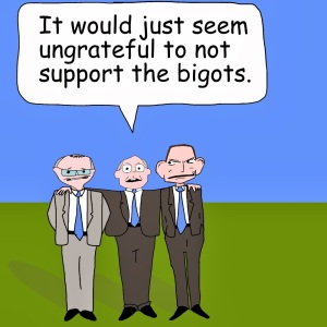 George Brandis Supports the Bigots